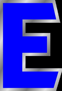Letter E Clip Art at Clker.com - vector clip art online, royalty ...