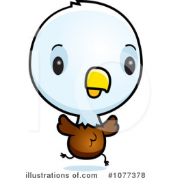 Bald Eagle Clipart #1077378 - Illustration by Cory Thoman