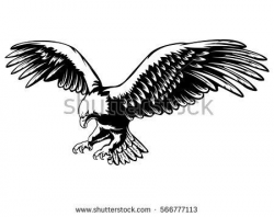 Eagle Vector Clip Art Free | Wood Burning Projects | Eagle ...