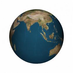 Rotating Earth Animation Gif
