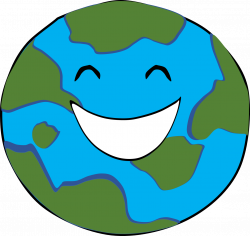 Earth clipart happy ~ Frames ~ Illustrations ~ HD images ~ Photo ...