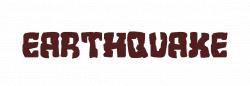 EARTHQUAKE logo. Free logo maker.