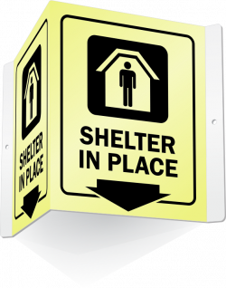 Shelter Signs - Earthquake, Tornado, Fallout, Decontamination Signs