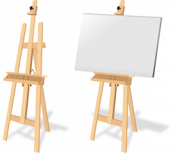 Clipart - Tripode de Pintura