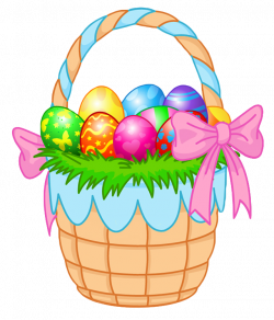 Transparent Easter Basket PNG Clipart Picture | Gallery ...