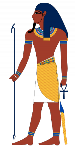 Atum created the god Shu and goddess Tefnut by spitting them out of ...