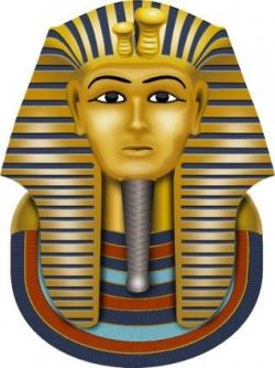 Golden Mask King Tut Clipart | Printables Church School Day ...
