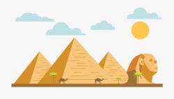 Egyptian Pyramid Png - Pyramid Of Giza Cartoon #54672 - Free ...