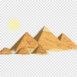 Pyramid illustration, Egyptian pyramids Ancient Egypt ...