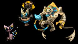 Sphynx Fakemon by T-Reqs on DeviantArt