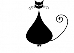Black cat Kitten Clip art - Cute cartoon black kitten 869*624 ...