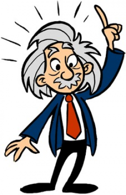 Einstein Clip Art by David Rickert | Teachers Pay Teachers
