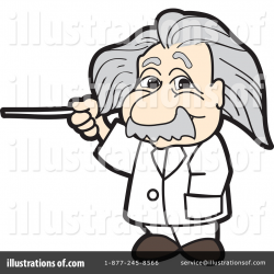 Einstein Clipart #1120144 - Illustration by Toons4Biz