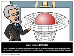Albert Einstein Storyboard by oliversmith