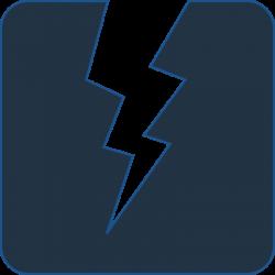Electricity Bolt Clipart. Elegant Balck Lightning Bolt Clip Art At ...