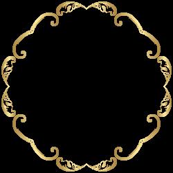 Decorative Round Border Frame Transparent Image | Gallery ...