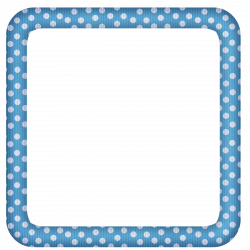 Blue Large Transparent Dotted Photo Frame | Boardes | Pinterest