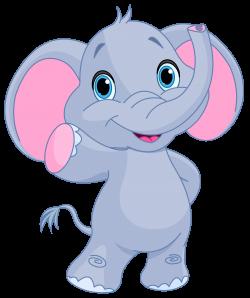 Cute elephant clipart image | GiRaFfE & eLePhAnT cLiP ArT ...