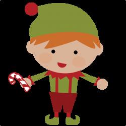50 cents---Elf SVG file for scrapbooking cute christmas elf svg cut ...