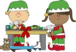 Image result for santas workshop elves clipart   ♥Christmas ...