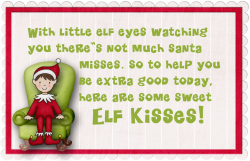 Free Elf on the Shelf poem you can print--pack in a lunch with some ...