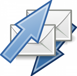 Email Sending Letters Clip Art at Clker.com - vector clip art online ...