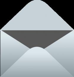 Unsealed Empty Envelope Clip Art at Clker.com - vector clip art ...