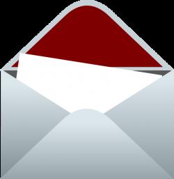 Lined Envelope With Letter Clip Art at Clker.com - vector clip art ...