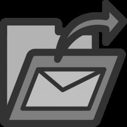 Sent Mail Folder Clip Art at Clker.com - vector clip art online ...