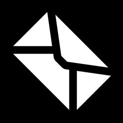 Tilted Envelope Clip Art at Clker.com - vector clip art online ...
