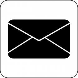 Mail symbol clipart - WikiClipArt