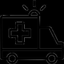 Ambulance Truck Hospital Vehicle Emergency Svg Png Icon Free ...