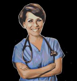 Public Domain Clip Art Image | nurse triage | ID: 13540092016705 ...