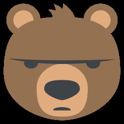 File:Emojione 1F43B.svg - Wikimedia Commons