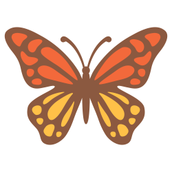 File:Emoji u1f98b.svg - Wikimedia Commons