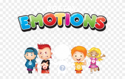 Emotions Clipart Cartoon Child - Emotional Development ...