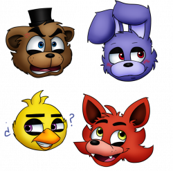 Four Emotions at Freddy's by menta-RR-66 on DeviantArt