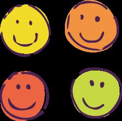 Smiley Cartoon Clip art - Four cartoons smile 3176*3167 transprent ...
