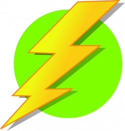 Lightning Green Circle Clip Art at Clker.com - vector clip art ...