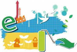 Natural environment Ecology Icon - Clean energy and environmental ...