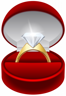 Engagement Ring PNG Transparent Clip Art Image | Gallery ...