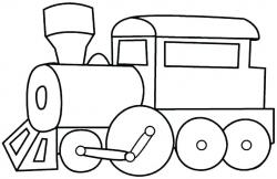 Train Clipart – Memocards.co for Train Engine Clipart Black ...
