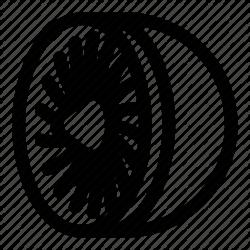 Engine Icon clipart - Airplane, Font, Line, transparent clip art