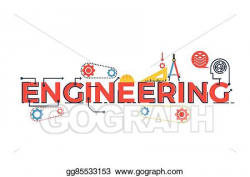 Vector Illustration - Engineering word illustration. EPS ...