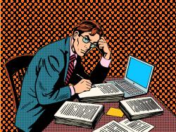 Journalist Journalism Clip art - Office man 1000*750 transprent Png ...
