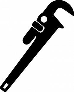 Adjustable Wrench Plumbing Masonry Tool Svg Png Icon Free Download ...