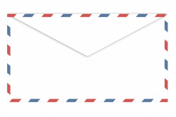 Airmail envelope,envelope,airmail,rear,back - free photo ...
