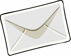 Awesome Of Envelope With Letter Clipart | Letters Format