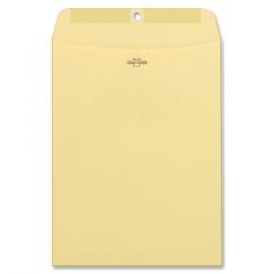 Columbian Heavy-Duty Manila & Gray Clasp Envelopes - Clasp - 10