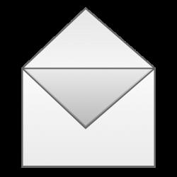 Envelope   Free Stock Photo   Illustration of an open envelope   # 16590